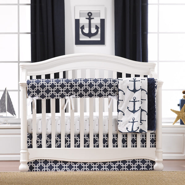 Navy Baby Bedding | Mix and Match