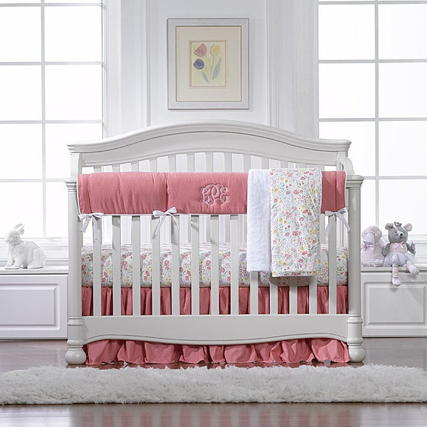 Nectar Linens Bumperless Crib Bedding - liz-and-roo-fine-baby-bedding.myshopify.com - 1