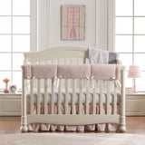 Cloud Gray Bunnies Crib Sheet
