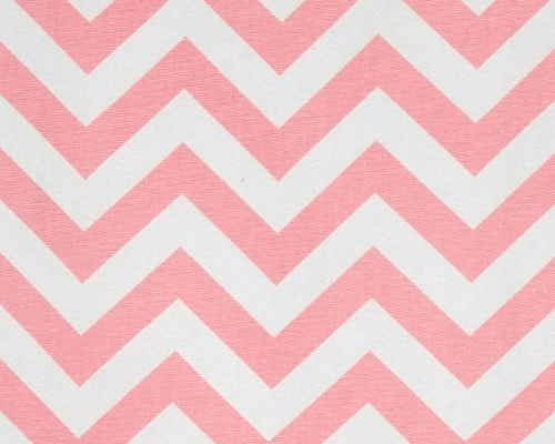 Pink Chevron Window Valance - liz-and-roo-fine-baby-bedding.myshopify.com