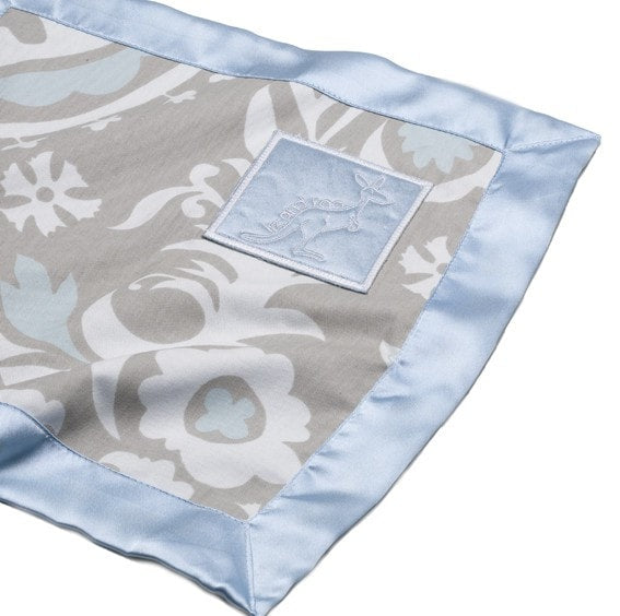Little Roo Lovey - Blue Suzani - liz-and-roo-fine-baby-bedding.myshopify.com