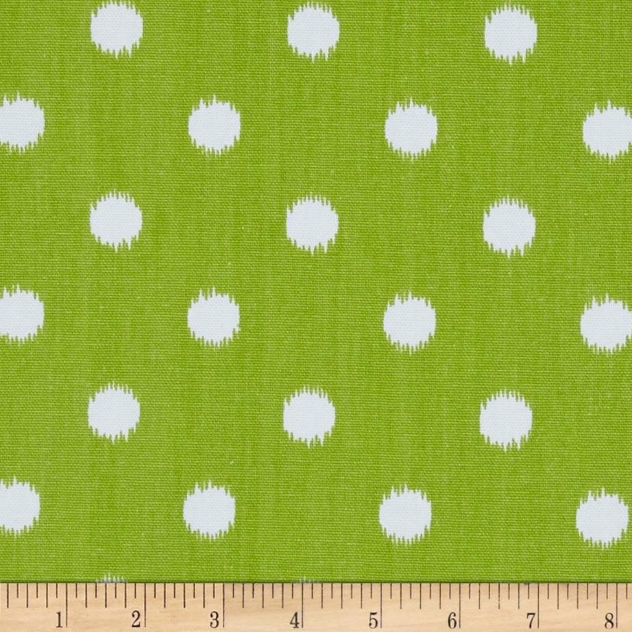 Premier Prints Green Ikat Dots - liz-and-roo-fine-baby-bedding.myshopify.com