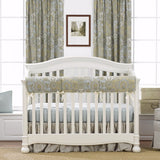 Stonewash Linens Crib Bedding (Bumperless) - liz-and-roo-fine-baby-bedding.myshopify.com - 1