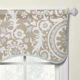 Taupe Suzani Window Treatments - liz-and-roo-fine-baby-bedding.myshopify.com - 1