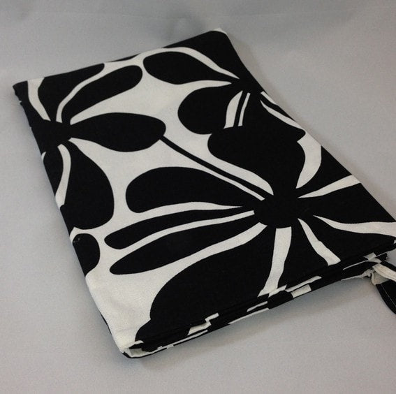 The Sack - Twirl in Black and White - liz-and-roo-fine-baby-bedding.myshopify.com