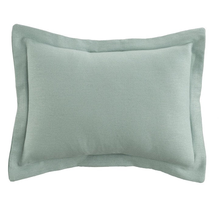Willow Linen (Mist) Baby Pillow Sham