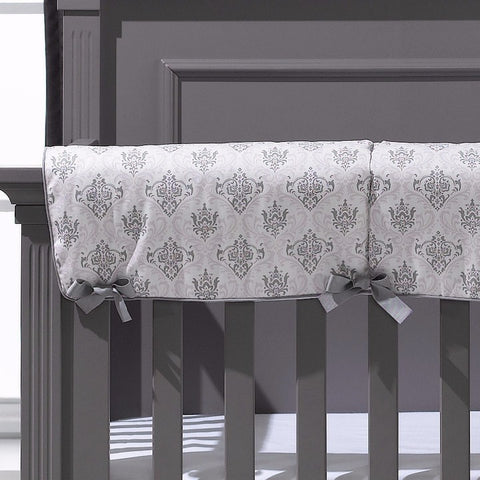 Bella Damask Crib Rail Cover - 2nd