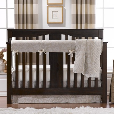 Cloud Linens Bumperless Crib Bedding