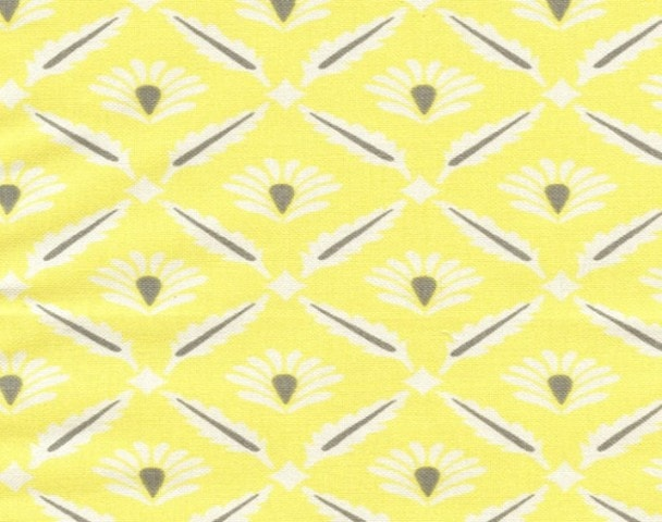 Clover (Gray and Yellow) Window Treatments - liz-and-roo-fine-baby-bedding.myshopify.com