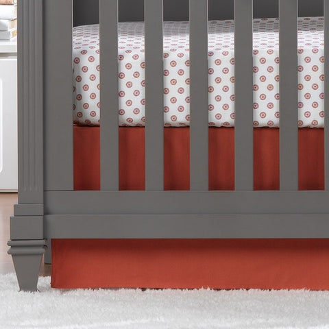 Coral 2-pc. Crib Bedding
