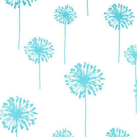 Dandelion Girly Blue/Twill - Premier Prints