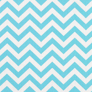 Zigzag Girly Blue/Twill - Premier Prints