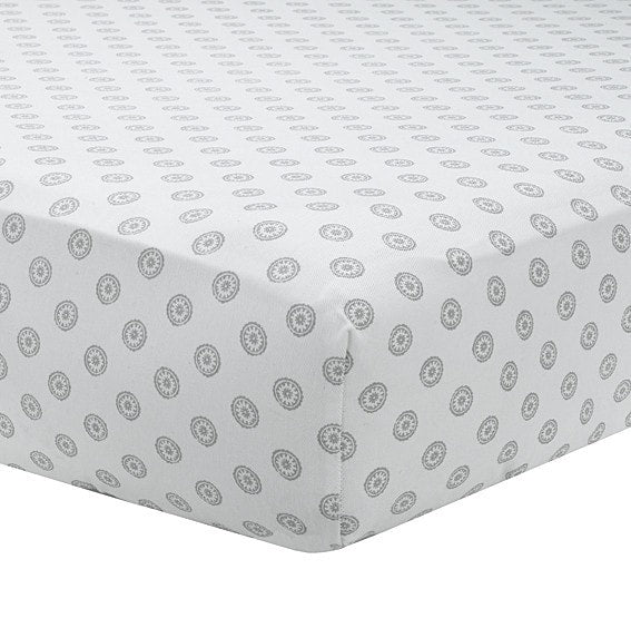 Gray Chelsea Crib Sheet - liz-and-roo-fine-baby-bedding.myshopify.com