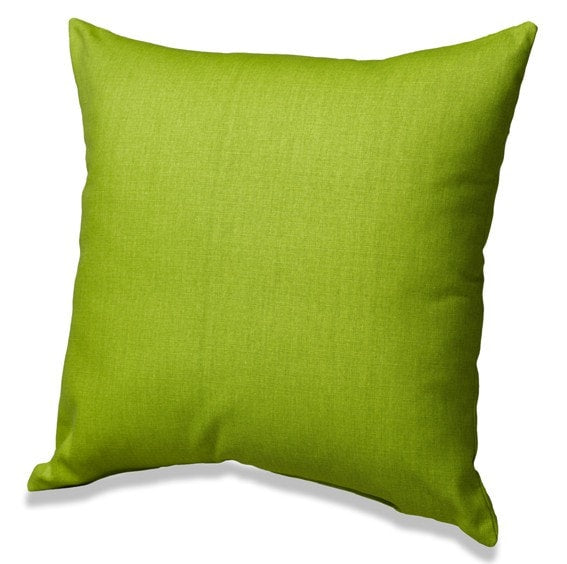 Chartreuse Solid Throw Pillows - liz-and-roo-fine-baby-bedding.myshopify.com