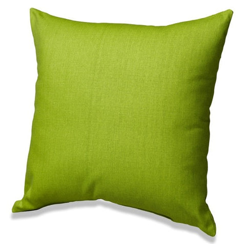 Chartreuse Solid Throw Pillows
