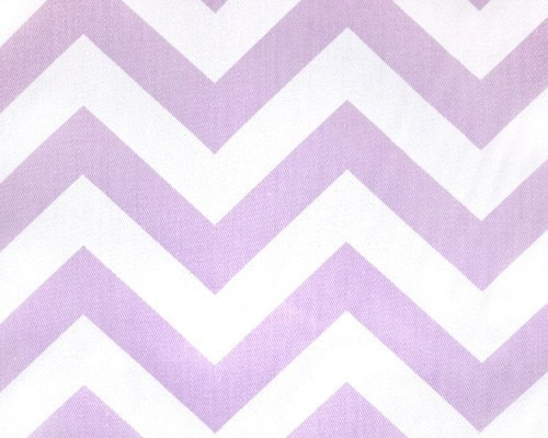 Lavender Chevron Window Treatments - liz-and-roo-fine-baby-bedding.myshopify.com - 1