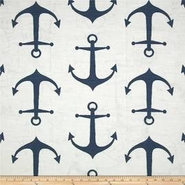 Anchors Premier Navy/Slub