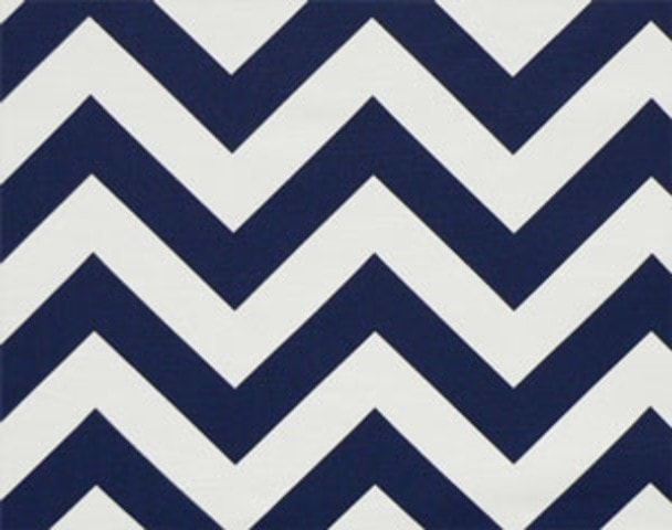 Navy Chevron Window Treatments - liz-and-roo-fine-baby-bedding.myshopify.com