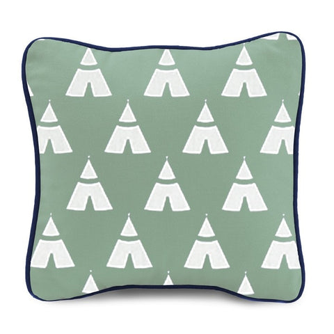 Canal Teepee Pillow (13