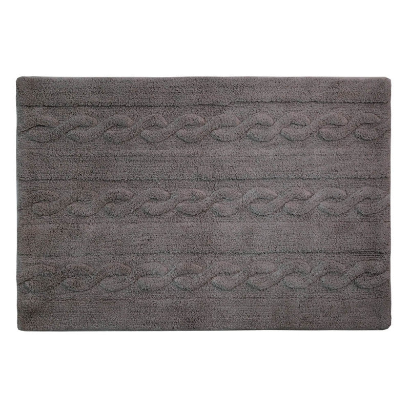 Lorena Canals Braids Dark Grey Rug
