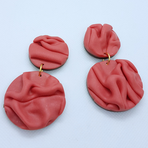 Paula Earrings - Rose Pink