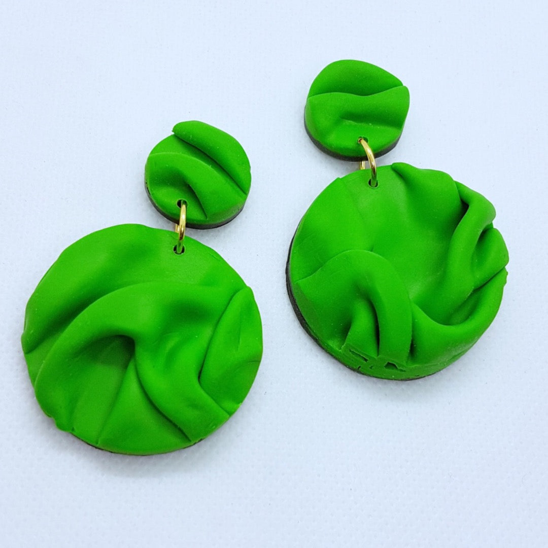 Paula Earrings - Green