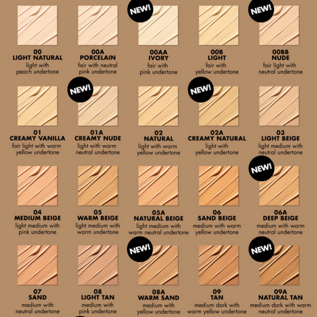 Milani Conceal Perfect 2in1 Foundation Various Shades Elysian Makeup Store