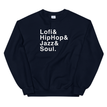 Load image into Gallery viewer, Lofi, HipHop, Jazz & Soul - Unisex Sweatshirt - lofijazzsoul