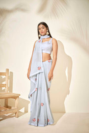 Modern crafted saree