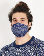 Load image into Gallery viewer, Hoxton Mask - Ugly Christmas Mask - Blue (LIMITED EDITION)