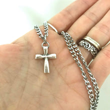 Load image into Gallery viewer, Stainless Steel Men's Cross Necklace