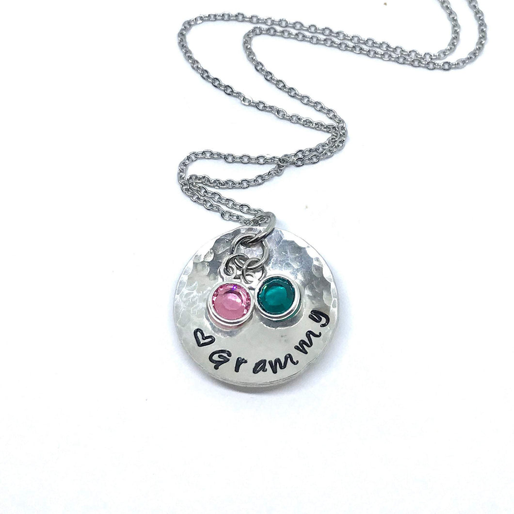 Birthstone Grammy Necklace