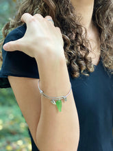 Load image into Gallery viewer, Seaglass Bangle Bracelet - Rhode Island