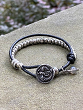 Load image into Gallery viewer, Mermaid Button Bracelet - Massachusetts