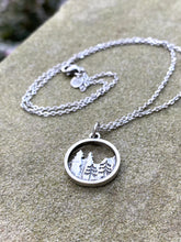 Load image into Gallery viewer, Mountain Necklace/Earrings Set - New Hampshire