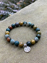Load image into Gallery viewer, Ocean Jasper Stone Bracelet - New Hampshire
