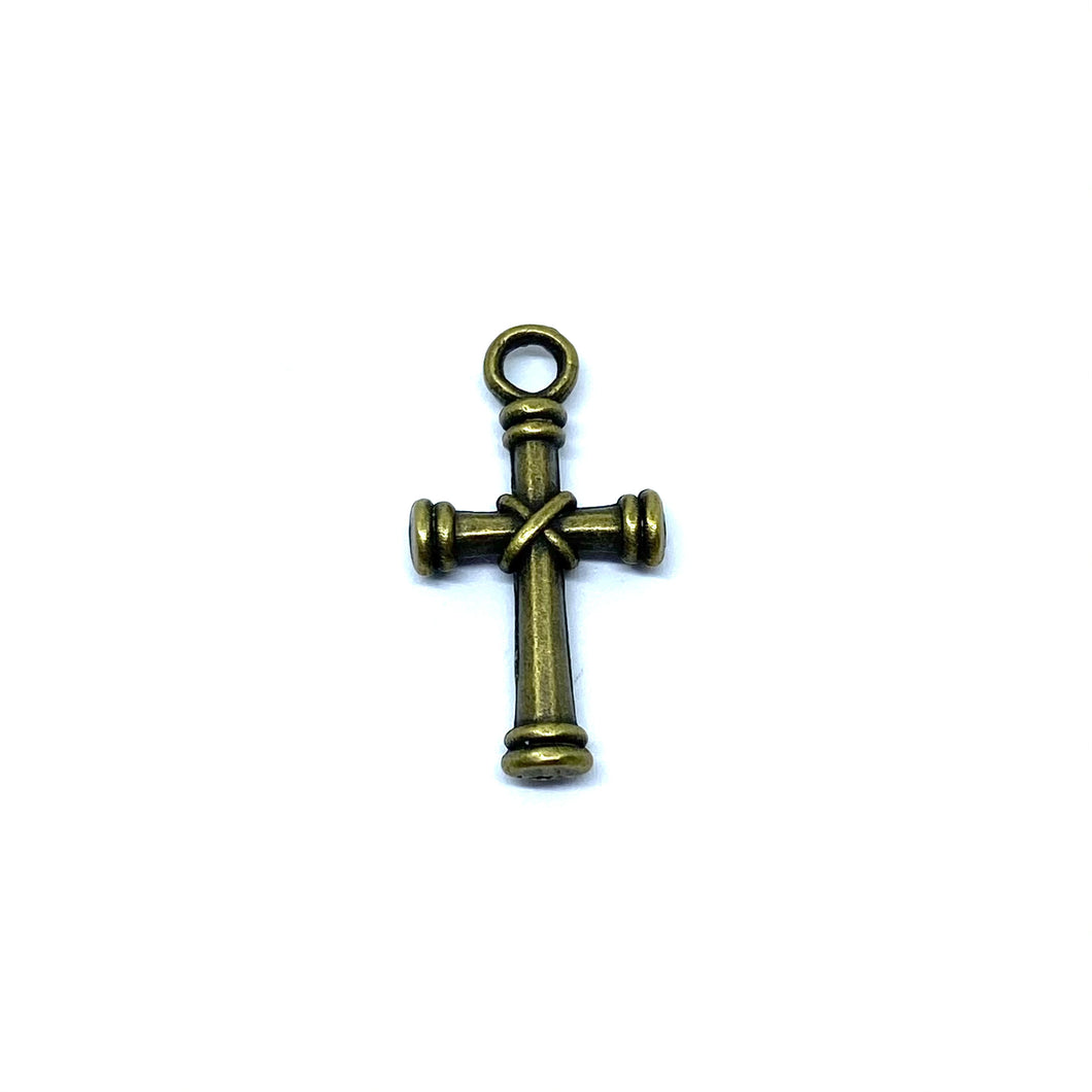 Wrapped Bronze Cross