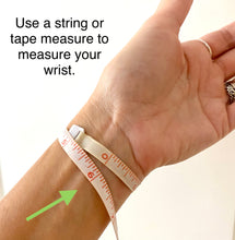 Load image into Gallery viewer, Slim Silver Cork Bracelet