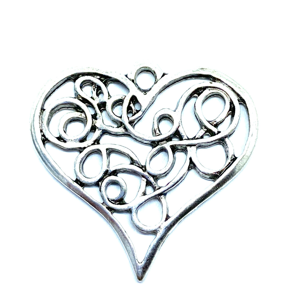 Large Flat Decorative Heart