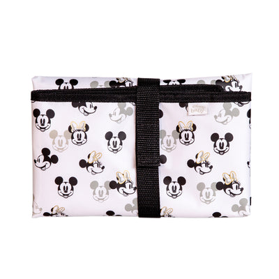 Disney Baby Full Body Changing Pad Mickey Minnie Ivory folded