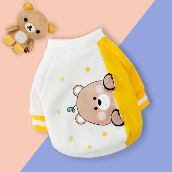 Little bear pet clothes