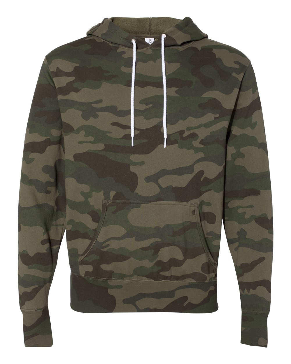 DRP-SHP.IO Independent Trading Co. - CAMO Unisex Lightweight Hooded Sweatshirt