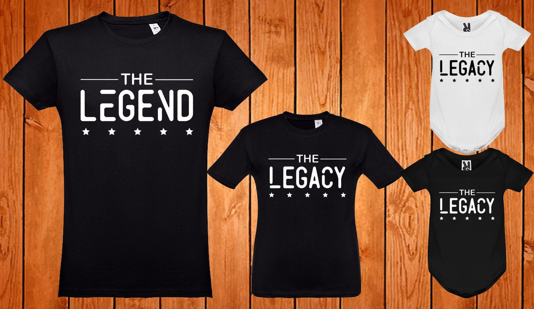 Conjunto The Legend - The Legacy