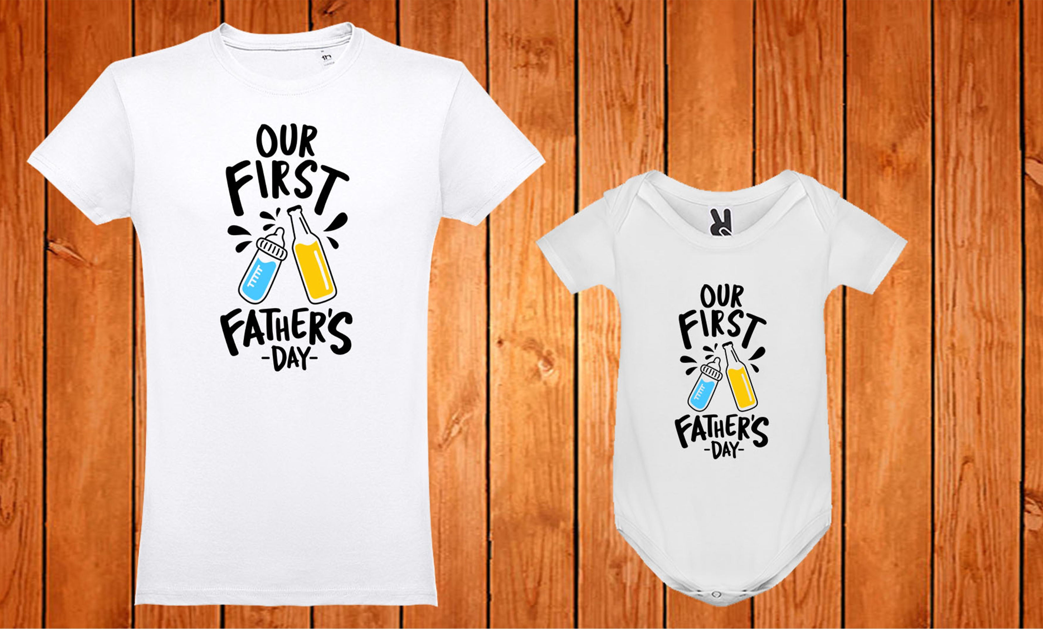 Conjunto Our First Father´s Day