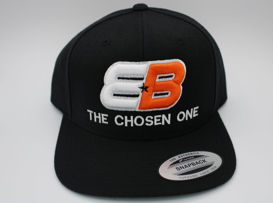 EB The Chosen One™ Snap Back Black/Orange/White - TEAM BERLANGA