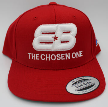 EB The Chosen One™ Snap Back Puerto Rican Flag Red/White - TEAM BERLANGA