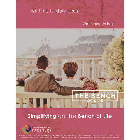 Bench of Life Ad - Downsizing