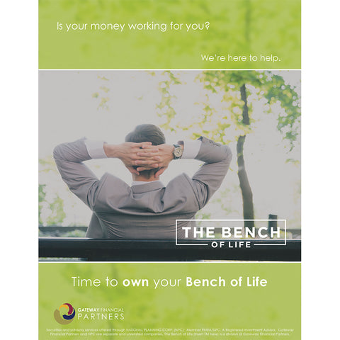 Bench of Life Ad - Money