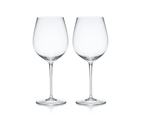 Tiffany Co. Wine Glass Pair