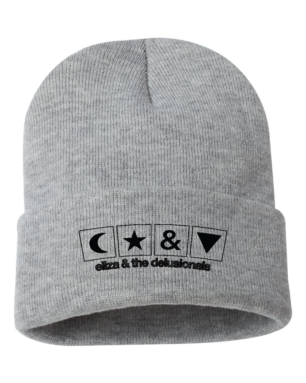 The Logo Beanie <br> Unisex <br> Athletic Grey